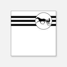 Harness Racing Stripes Sticker
