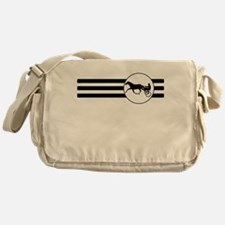 Harness Racing Stripes Messenger Bag