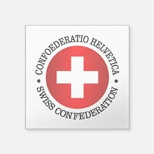 Swiss (rd) Sticker