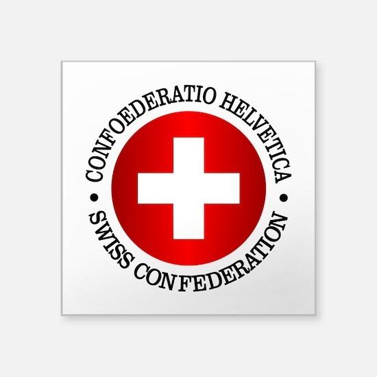 Swiss (rd) Sticker