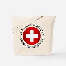Swiss (rd) Tote Bag