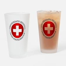 Swiss (rd) Drinking Glass