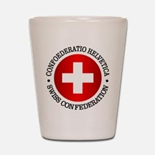 Swiss (rd) Shot Glass