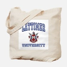 LATTIMER University Tote Bag