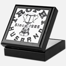 Trophy Husband since 1985 Keepsake Box