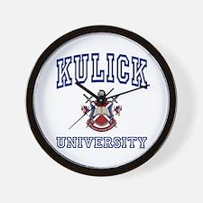 KULICK University Wall Clock