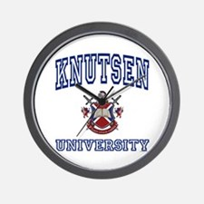 KNUTSEN University Wall Clock
