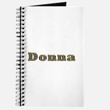 Donna Gold Diamond Bling Journal