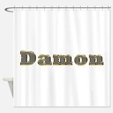 Damon Gold Diamond Bling Shower Curtain