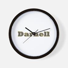 Darnell Gold Diamond Bling Wall Clock