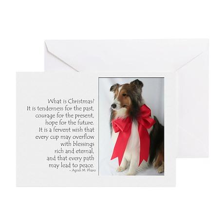 Peace & Joy Sheltie Cards (Pk of 20)