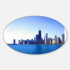 The Chicago Skyline Decal