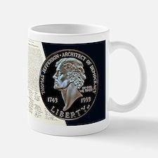 Thomas Jefferson Dollar Mug