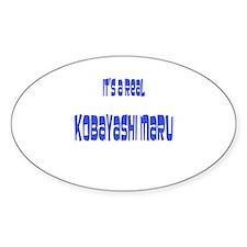 kobayashi maru Oval Decal