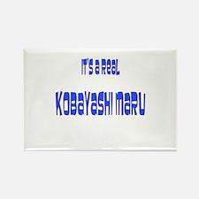 kobayashi maru Rectangle Magnet