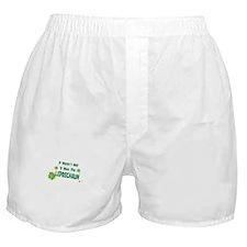 IT WASNT ME IT WAS THE LEPRECHAUN Boxer Shorts