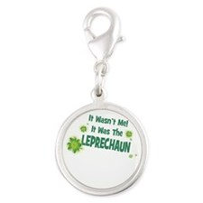 IT WASNT ME IT WAS THE LEPRECHAUN Charms