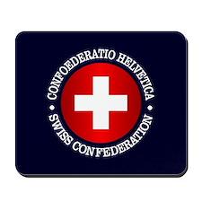 Swiss (rd) Mousepad