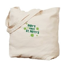 BABYS FIRST ST PATTYS DAY Tote Bag