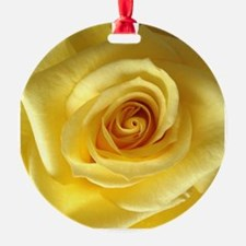Cute Yellow rose Ornament