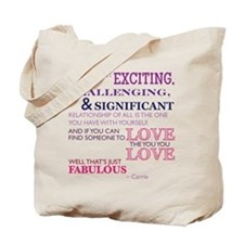 SATC: Exciting Relationship Tote Bag