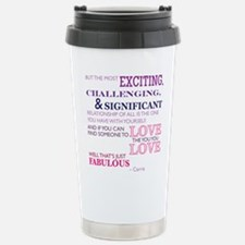 SATC: Exciting Relation Stainless Steel Travel Mug