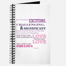 SATC: Exciting Relationship Journal