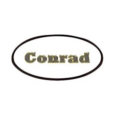 Conrad Gold Diamond Bling Patch
