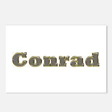 Conrad Gold Diamond Bling Postcards 8 Pack
