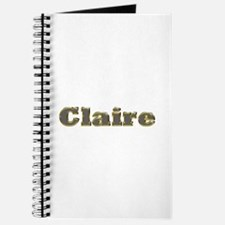 Claire Gold Diamond Bling Journal
