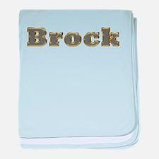 Brock Gold Diamond Bling baby blanket
