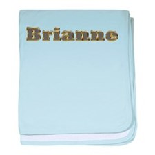 Brianne Gold Diamond Bling baby blanket