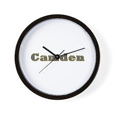 Camden Gold Diamond Bling Wall Clock