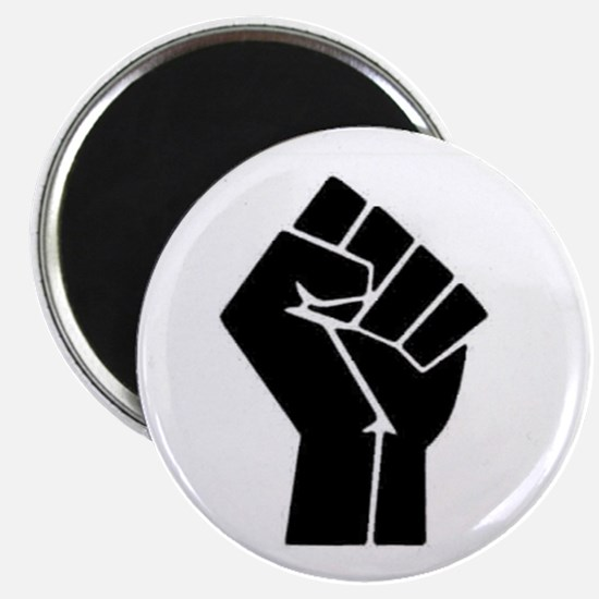 Black Power Magnet