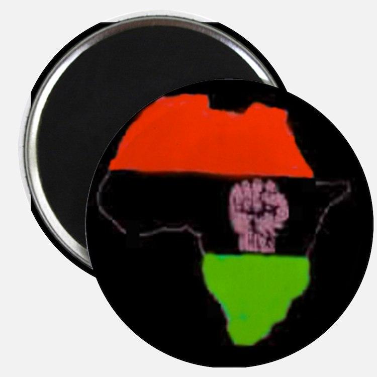 Black Power Magnet