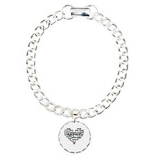 Adoption words heart Bracelet