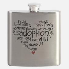 Adoption words heart Flask