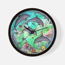 Unique Aquatic animals sea life Wall Clock