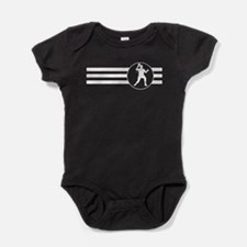 Table Tennis Stripes Baby Bodysuit