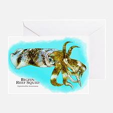 Bigfin Reef Squid Greeting Card