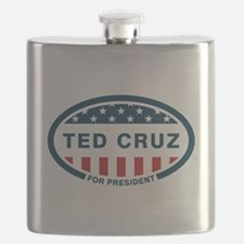 Ted Cruz for president Flask