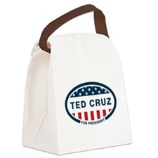 Ted Cruz for president Canvas Lunch Bag
