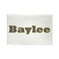Baylee Gold Diamond Bling Rectangle Magnet