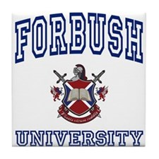 FORBUSH University Tile Coaster