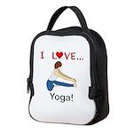 I Love Yoga Neoprene Lunch Bag