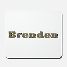 Brenden Gold Diamond Bling Mousepad
