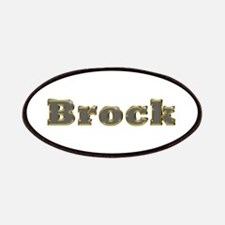 Brock Gold Diamond Bling Patch