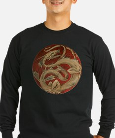 Vintage Dragon Long Sleeve T-Shirt
