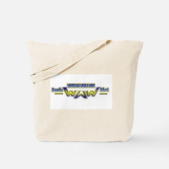 Rasslin Riot logo Tote Bag
