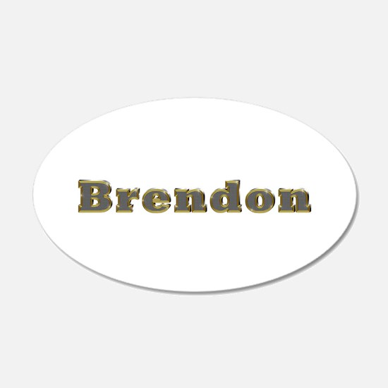 Brendon Gold Diamond Bling Wall Decal